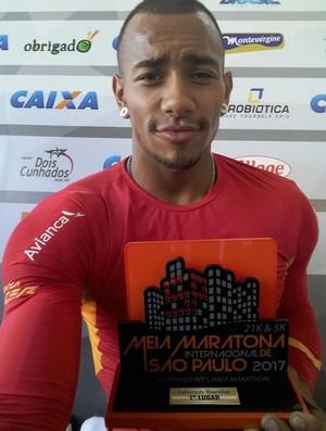 Leonardo Melo fatura título da Meia Maratona São Paulo  (Foto: Leonardo Melo / Arquivo Pessoal )
