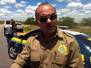 Inspetor Carlos Kleber, da Polícia Rodoviária Federal do RN (Foto: Fernanda Zauli/G1)