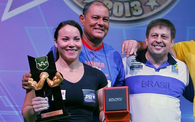 gabriela Vasconcelos Luta de braço arnold classic força bruta  (Foto: Wagner Meier / Globoesporte.com)