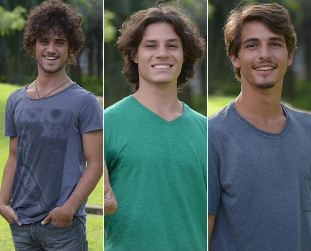 Finalistas do Garoto Boogie Oogie (Foto: Raphael Dias/TV Globo)