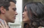 Vicente diz para Maria Vitória que não quer que ela vá embora