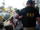 PRF prende homem com moto furtada em União dos Palmares, AL