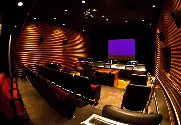Estúdio de dublagem da LA Film School, na Califórnia (Foto: Divulgação)