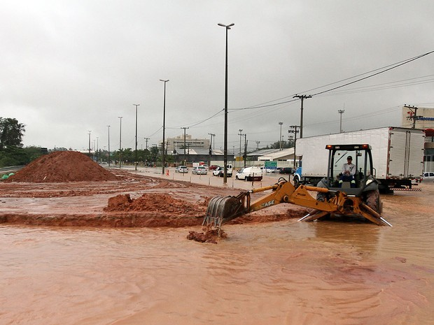 Chuvas em Macaé (Foto: Juranir Badaró/Secom Macaé)