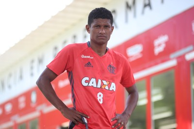 Marcio Araujo jogador do Flamengo (Foto: Gilvan de Souza/Flamengo)