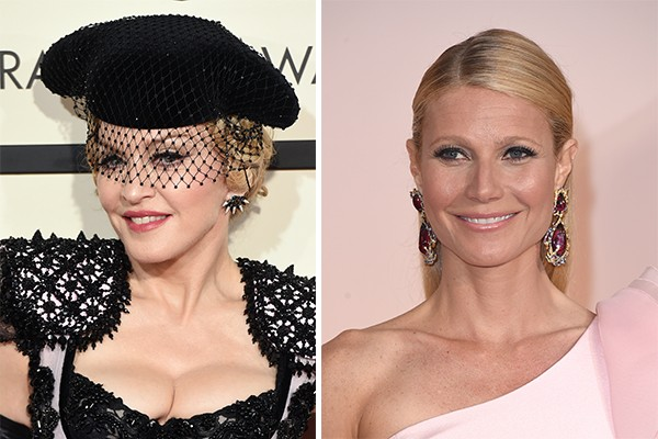 Madonna e Gwyneth Paltrow (Foto: Getty Images)