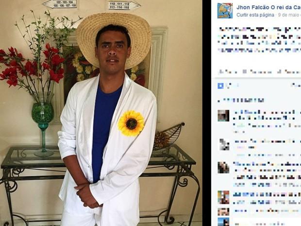 John Falcão, cantor do Rei da Cacimbinha, está entre os feridos (Foto: Reprodução / Facebook)