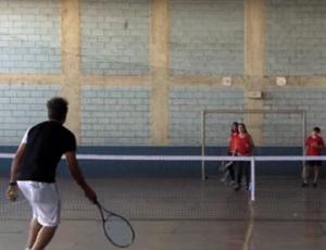 Projeto de tênis divinópolis (Foto: Aparecido Antônio/Arquivo Pessoal)
