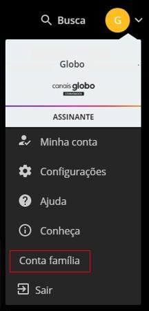 Conta Família - Canais Globo (Foto: Canais Globo)