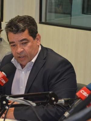 Amadeu Rodrigues, Federação Paraibana de Futebol, FPF (Foto: Larissa Keren / GloboEsporte.com)