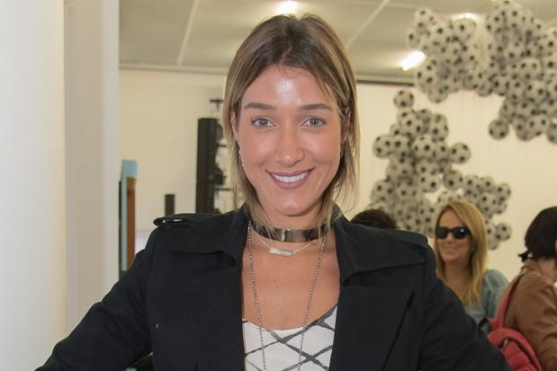 Gabriela Pugliesi no SPFW (Foto: Andr Bittencourt)