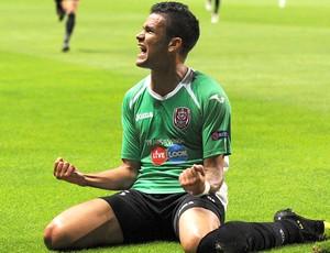 Rafael Bastos, Braga x CFR Cluj (Foto: Agência AP)