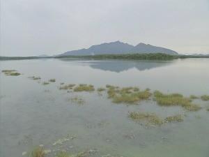 Gavião é único açude do Ceará que mais de 90% do volume de água (Foto: TV Verdes Mares/Reprodução)