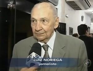Luiz Noriega, locutor esportivo (Foto: Reprodução / TV TV Tem)