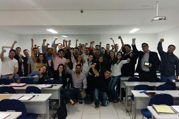 12ª turma do MBA Gerenciamento de Projetos organizou o debate (Foto: Divulgação)