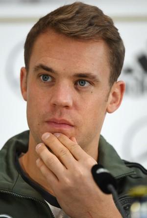 Manuel Neuer coletiva de imprensa Alemanha (Foto: AFP)