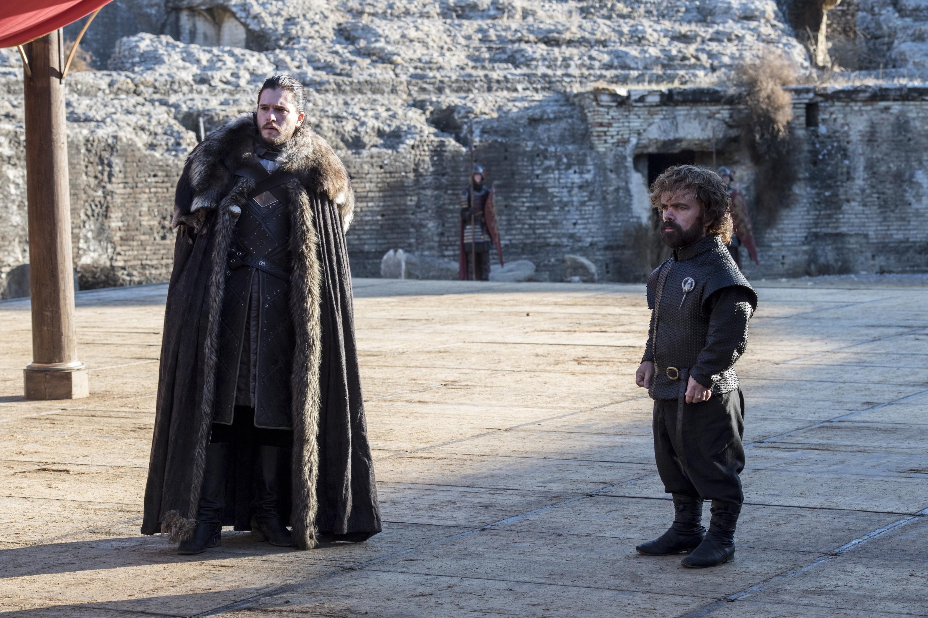 Jon Snow e Tyrion Lannister (Foto: Divulgação/ HBO)