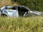 Casal morre após carro capotar entre Ribeirão Preto e Brodowski, SP