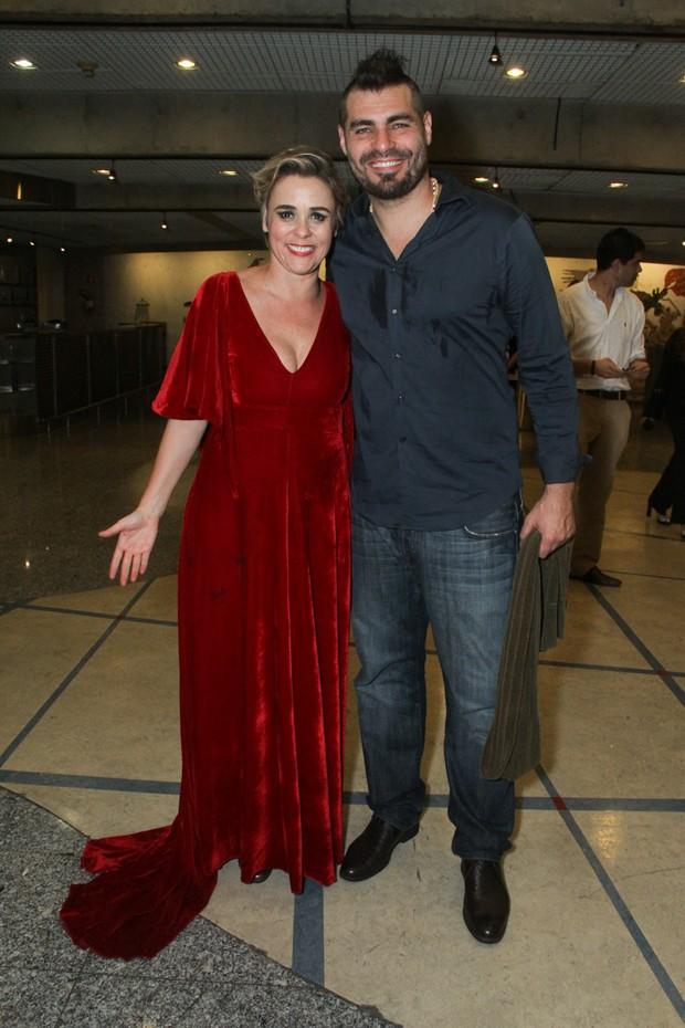 Giulia Gam e Thiago Lacerda (Foto: Amauri Nehn/Photo Rio News)