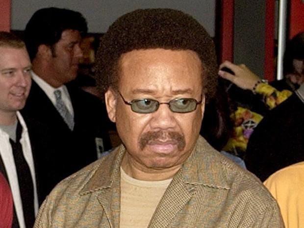 Maurice White, cantor do Earth, Wind & Fire, em foto de 2003 (Foto: AP Photo/Matt Sayles)