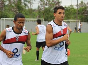 Wellington Saci e Murilo Joinville (Foto: Divulgação/Assessoria JEC)