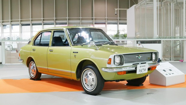 Toyota Corolla celebra 45 anos