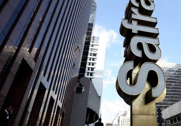 Sede do Banco Safra, na Avenida Paulista (Foto: Fernando Donasci/Agência O Globo)