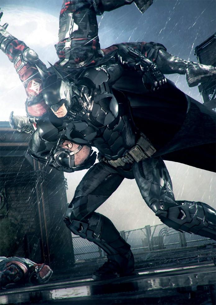 Clássico sistema de contra-ataques volta em Batman: Arkham Knight (Foto: All Games Beta)
