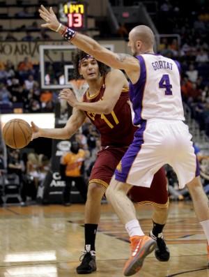 Anderson Varejão, Cleveland Cavaliers - AP (Foto: AP)