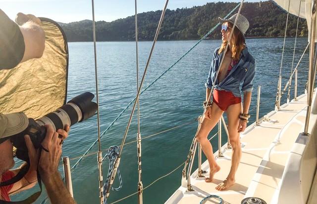 Isabel Hickmann é estrela da campanha da marca de óculos Hickmann (Foto: Divulgação)