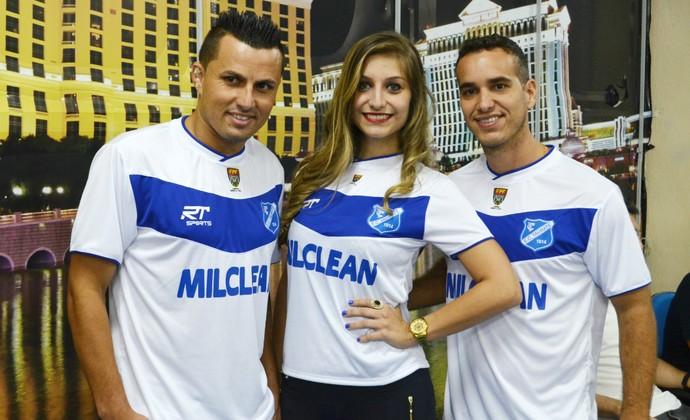 Jorge Mauá, Nathalia Maia, Rai Diego, Taubaté (Foto: Danilo Sardinha/GloboEsporte.com)