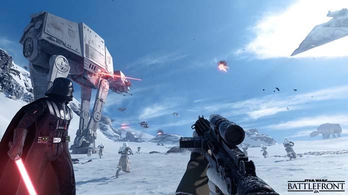 Vader é um dos personagens jogáveis do game (Foto: Divulgação)