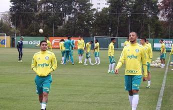Bate-papo, jogo-treino com reservas e retornos: a sexta-feira do Palmeiras