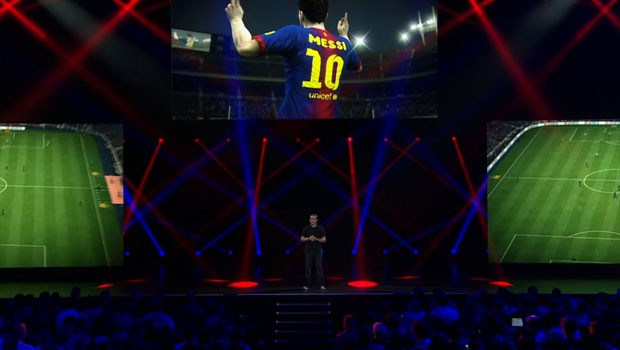 EA apresentou detalhes do game 'Fifa 14' (Foto: Reprodução)