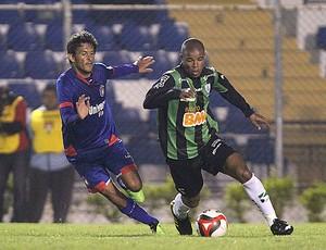 São Caetano x América-MG (Foto: Ag. Estado)