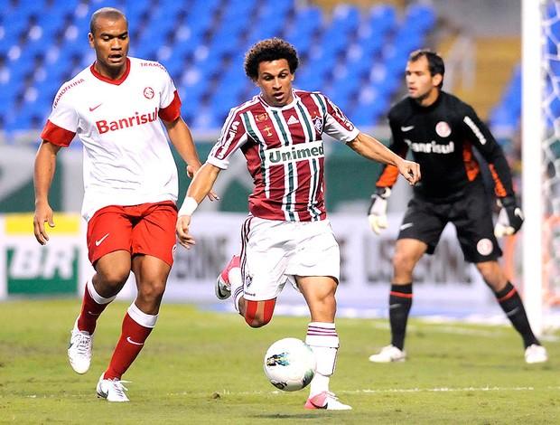 Wellington Nem ma partida do Fluminense contra o Internacional (Foto: Dhavid Normando / Photocamera)