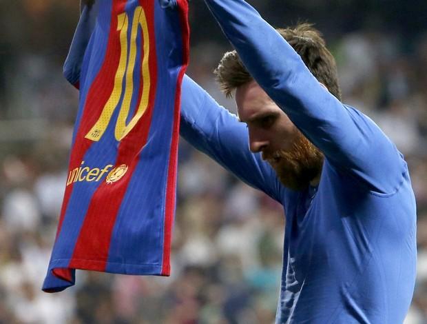 Messi Barcelona x Real Madrid