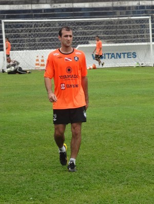 Rudiero Possebon pode ser titular no jogo contra o Vilhena (Foto: Gustavo Pêna/GLOBOESPORTE.COM)