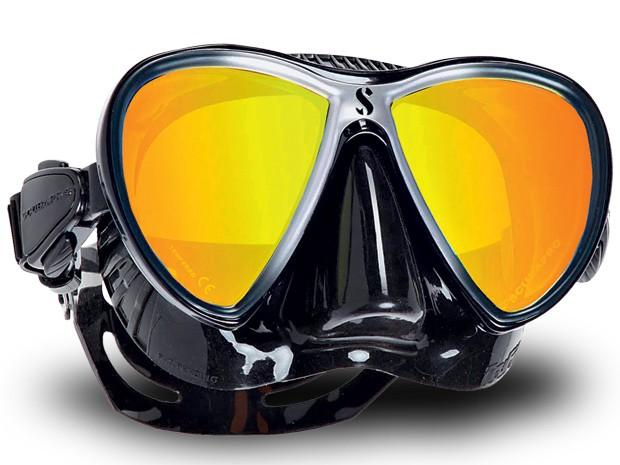 Máscara de mergulho (Foto: Divulgação)