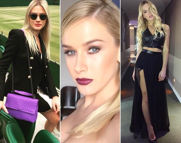 Fiorella Mattheis faz sucesso com seus looks poderosos e cheios de estilo. (Foto: Reproduo / Instagram)