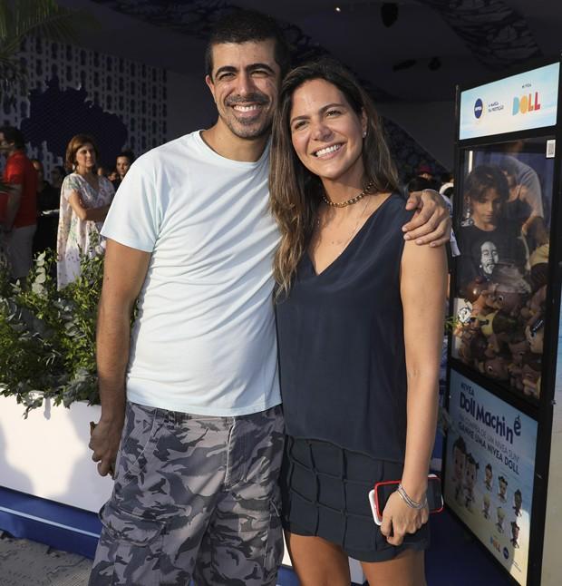 Marcius Melhem e Carol Sampaio (Foto: Felipe Panfilli/AgNews)