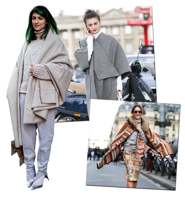Casaco-cobertor (Foto:  )
