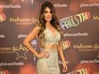 Cantora Paula Fernandes comenta look de arrasar (Carol Caminha/Gshow)