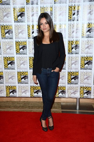 Mila Kunis na Comicon de San Diego (Foto: Getty Images)
