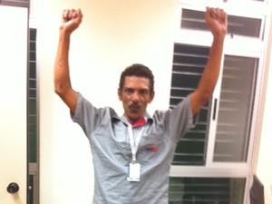 Jusair da Silva ficou sabendo do concurso através de um anúncio de jornal (Foto: Arquidiocese de Belo Horizonte/Reprodução)