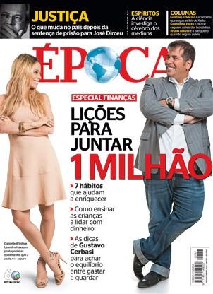 Capa da revista ÉPOCA - edição 757 (Foto: Reprodução/Revista ÉPOCA)