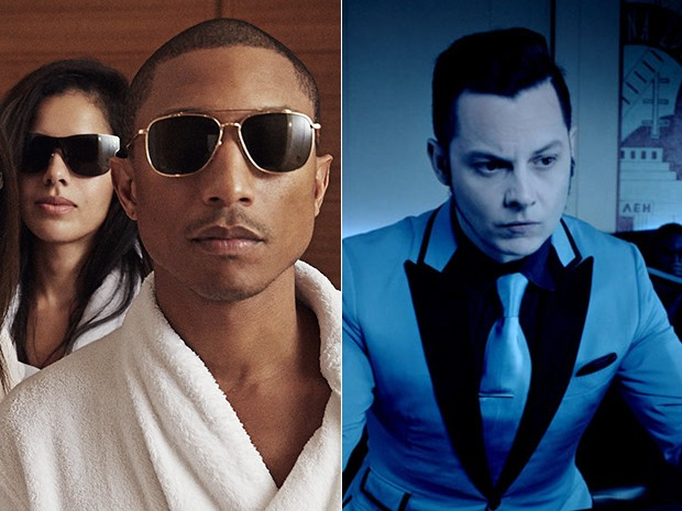 Pharrel e Jack White são os headlines do Lolla 2015 (Foto: Divulgação)