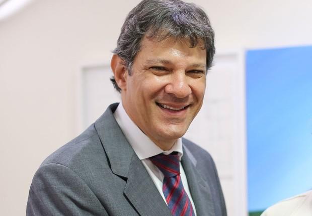 O prefeito de São Paulo, Fernando Haddad (PT) (Foto: Ricardo Stuckert/Instituto Lula)