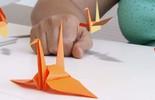 Aprenda como fazer origami de tsuru > saiba mais