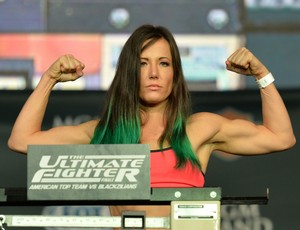 Angela Magaña pesagem TUF FInale (Foto: Getty Images)